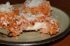 Baked Arancini Rice Balls