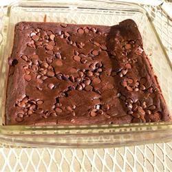 Black Bean Brownie with dark chocolate