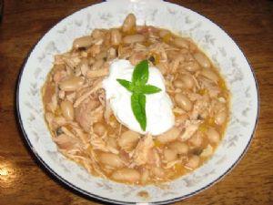White Bean & Chicken Chili