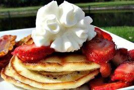 Cottage Cheese 'Blintz' Pancakes