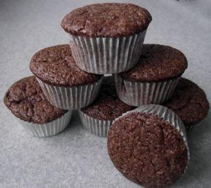 Mini Mint Chocolate Brownie Cupcakes (Eggless)