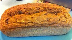 Quick Whole Wheat, Oatmeal, Raisin Bread
