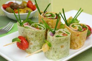 Tortilla Pinwheels RECIPE