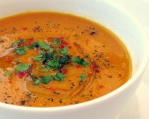 Egyptian Red Lentil Soup from Moosewood Restaurant