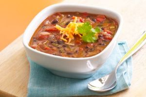 Southwest Chicken and Black Bean Soup