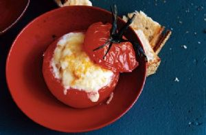 Roasted Tomato and Baked Egg cups