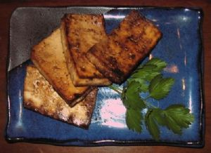 Baked Tofu Steak