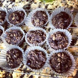 Dark Chocolate Coconut Mini Baked Oatmeal