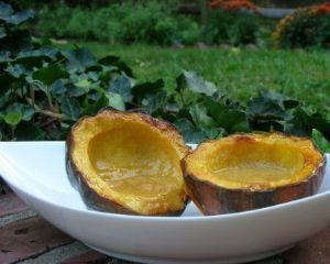 Honey Glazed Acorn Squash