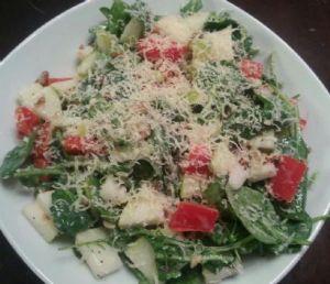 Poppy Seed Pear Salad