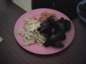 Mussels,and Pasta