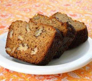 Gluten Free & Low Fat Banana Bread