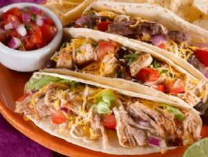 Tex Mex Chicken Tacos