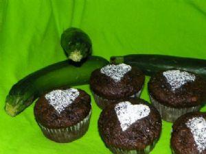 Chocolate Zucchini cake 91 Calories