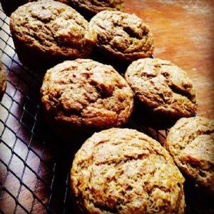 Pumpkin Cayenne Spiced Low-Carb Muffins