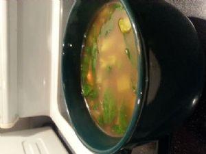 Vegetable Soup in Beef Broth