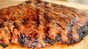 "'Keeper"" Marinade for Grilled Flank Steak"
