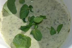 Celery, Watercress and Fennel Soup