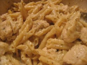 Chicken Scampi: Redux