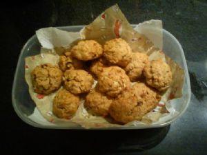Low Carb Muesli  Cookies
