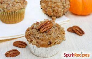Carrot Cake Pumpkin Muffins