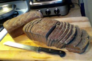 Wheat free buckwheat & millet bread