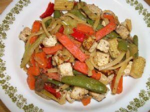 Vegetable & Tofu stir fry