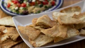 Healthy Homemade Pita Chips