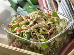 Chicken Salad with mustard vinairgarette