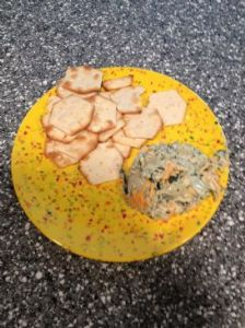 Vegan Creamy Spinach-Artichoke Dip