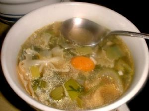 JEWISH VEGETARIAN SOUP WITH PARSNIPS