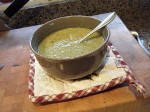 HCG Phase 3 Cream of Broccoli Soup