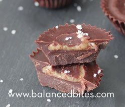 21 DSD Chocolate Almond Butter Cups