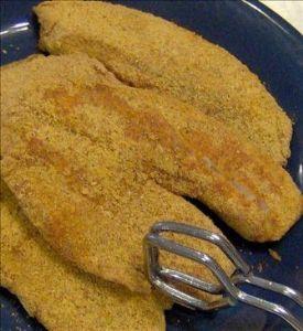 Kid's Healthier Fried Fish