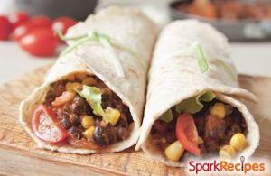 Slow Cooker Vegetarian Burritos