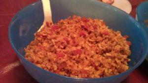 Brown Spanish Rice