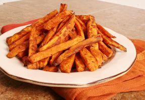 Sweet Potato Fries (baked)