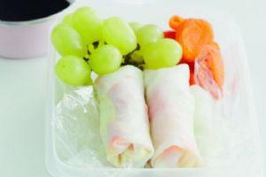 Chicken Salad Rice Paper Rolls
