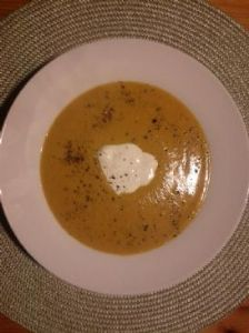 Homemade Butternut Squash Soup