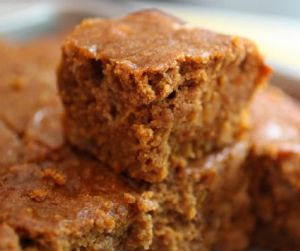 Healthy Pumpkin Snack Cake