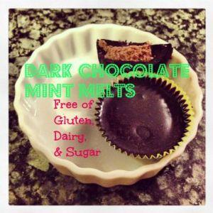 Dark Chocolate Mint Melts