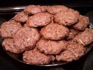 Drew's Healthy Mint Chocolate Zucchini Cookies (Vegan)