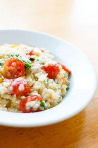 Tomato and Corn Risotto