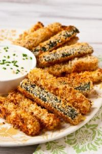 Crispy Baked Zucchini Fries (the whole batch)