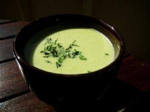 Creamy Asparagus Bacon Soup