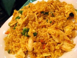 Chicken Fried Rice (white rice/no egg)
