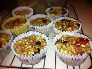 Fruit Oatmeal Muffin