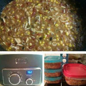 Crock Pot White Bean Chicken Chili