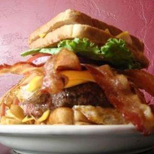 The Baconnaise Double Bypass Death Burger