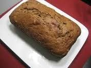 Low Fat Applesauce Bread